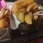 batata frita: 2 tipos