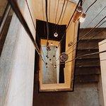 Trevarefabrikken staircase