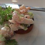 Shrimp on toast morsels