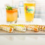Craft Beer, Craft Tiki Cocktails and Surf Style Sushi.