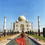 Taj Mahal , One of The Seven Wonders of The World