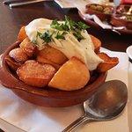 Frtitierte Kartoffeln mit Aioli