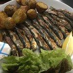 Sardines grillées et pommes de terre nouvelles de Noirmoutier