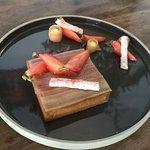 Tartelette rhubarbe et fraises