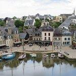 Le port de Saint Goustan vu du haut d'Auray
