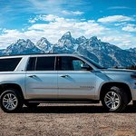 Shot in Jackson our Large SUV Fleet