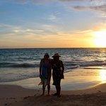 Sunrise beach , minutes away from resort