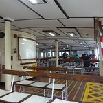 Inside the Star Ferry (from TST to Wan Chai) at 16:30 on a Wednesday