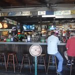 Bar or restaurant seating.