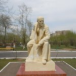 Lenin Square, Chita, Russia. There is even a monument to Vladimir Lenin in Odora Park, the main park in Chita.