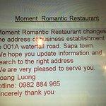 Photo of Moment Romantic Restaurant