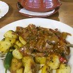 Kawarma with sauted potatoes