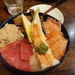 Sashimi Sushi Bowl