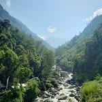 Trekking upriver