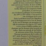 La brochure sur le patrimoine