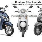 Bike on Rent in Udaipur near me