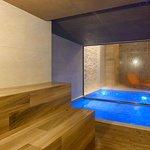 Sauna do SPA by L'Occitane - Vogal Luxury Beach Hotel & SPA.