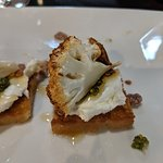 Cauliflower Crostini