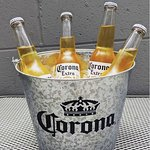 We have Corona! And you can get it the best way possible, in buckets!!
