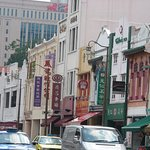 Chinatown, Singapore - lovely old architecture :)