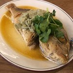 Whole Snapper with burnt butter sauce $38