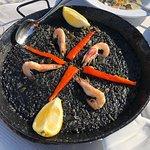 Black Squid Ink Paella....