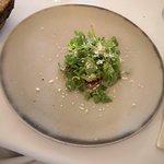 Carpaccio di cuor di vitello con wasabe e parmigiano