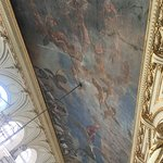 Just one of the beautifully painted ceilings