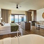 Overwater suite with private pool