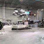 Incredible dismantled F1 car