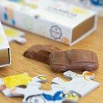Gama Infantil - Carros de Chocolate de Leite 75grs