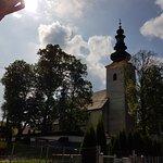 kościół od strony potoku Kacwinianka
