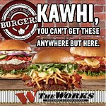 """Kawhi, you've got 58 wins and we've got 58 different toppings; definitely not a coincidence.   Kawhi Leonard: Re-sign and we'll sign over burgers for life! #stayforakawhile  #kawhineanddine  """"Like"""" and show Kawhi why he should stay!"""
