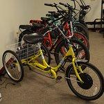 Our selection of electric Pedigo bikes, and our Sun Trikes!