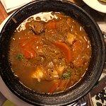 caldillo de congrio, SIN mariscos. Es una pura y tradicional sopa de congrio, muy agradable en c
