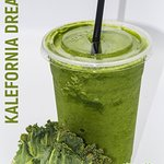 Delicious all whole fruit and vegetable smoothie
