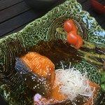 Lachs mit Teriyaki-Soße