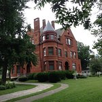 The 1890's Howard Family Mansion is the home to the Howard Steamboat Museum.