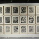 """""""Eaux, pierres, sables"""" (1959) par Jean DUBUFFET (1901-1985)"""