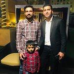 With my great friend Badar Zaman