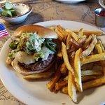 Green and Hot Burger