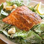 Grilled Salmon Caesar