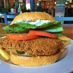 Poppaliscious Jalapeno Popper Burger