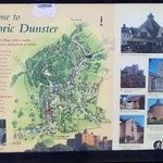 Map of Historic Dunster