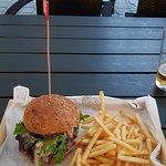 Burger Francuski pocałunek - polecam
