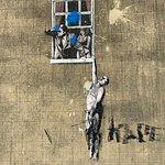 Banksy - Well Hung Man