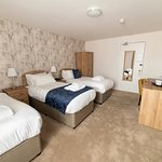 Triple room at the County Hotel