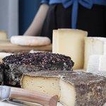 Plateau de fromages de la région