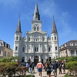 The St Louis Cathedral seen from the Square