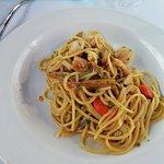 Spaghetti castraure e capesante